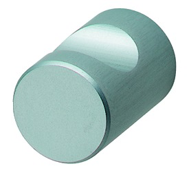 Aluminium Door Knob, Silver Coloured - Anodised