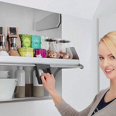 Imove Pull Down Clever Cabinet Storage For Kitchen Handles And More