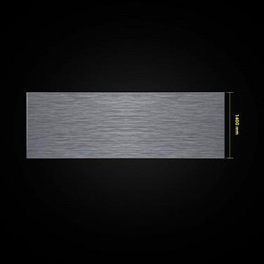 Brushed Aluminium Laminate Kitchen Kickboard Plinth Pack