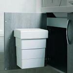 8 Litre Bathroom Bin from Hafele, vanity hang on tiles easy to install handy