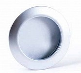 Kitchen bathroom furniture wardrobe cupboard door knobs, Brushed, Satin Chrome