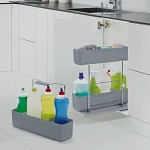 Pick up and go cleaning pull-out Cleaning Agent from Kessebohmer kitchen sink