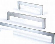 Brushed Stainless Steel Pull Handle - 12X8mm