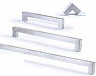 Kitchen Bathroom Vanity Furniture Cupboard Door Handles - Entrata Stainless Steel