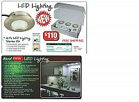 LED Kitchen Furniture Unit Cupboard Cabinet Lights