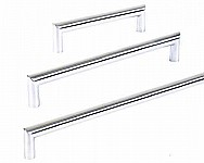 Kitchen Bathroom Laundry Furniture Wardrobe Cupboard Door Handles - Palo Stainless Steel
