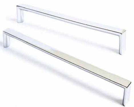 Visso Wardrobe Cupboard Chrome Flat Handle