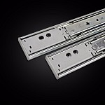 Ball bearing drawer runners kitchen vanity soft close cabinet cupboard
