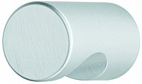 Aluminium Door Knob, Silver Coloured - Anodised
