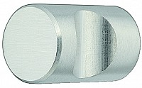 Stainless Steel Door Knob, Cylindrical - Recessed Grip