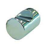 Brass Door Knob, Chrome-Plated - Matt or Polished