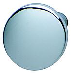 Zinc Alloy Door Knob, Matt Nickel or Polished Chrome Plated