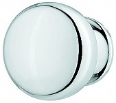 Zinc Alloy Door Knob, Chrome or Nickel-Plated or Gold Coloured