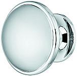 Zinc-Alloy Round Door Knob, Chrome, Nickel or Gold Finish