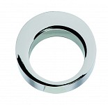 Pull Handles-Aluminium, Chrome Plated, Polished, Hole spacing 16mm